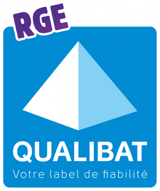 Label de la certification Qualibat RGE